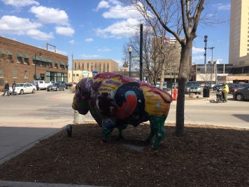Bison art is everywhere!