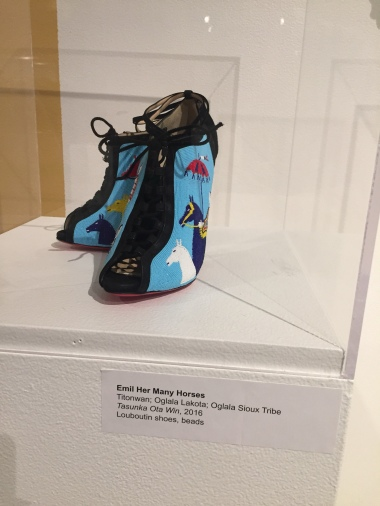 Louboutin shoes turned into art